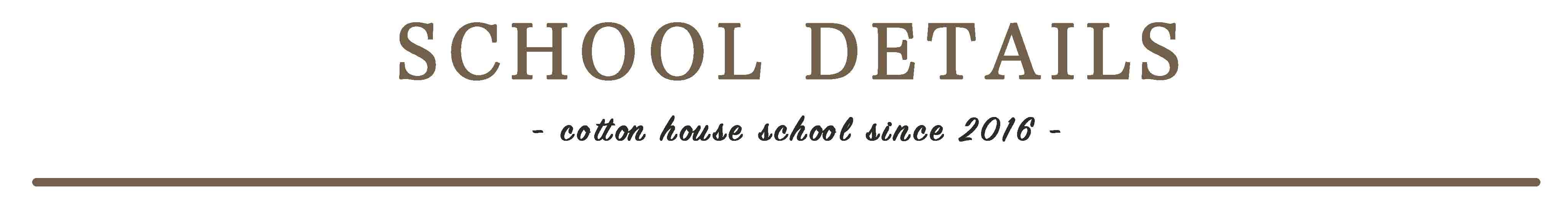 School details