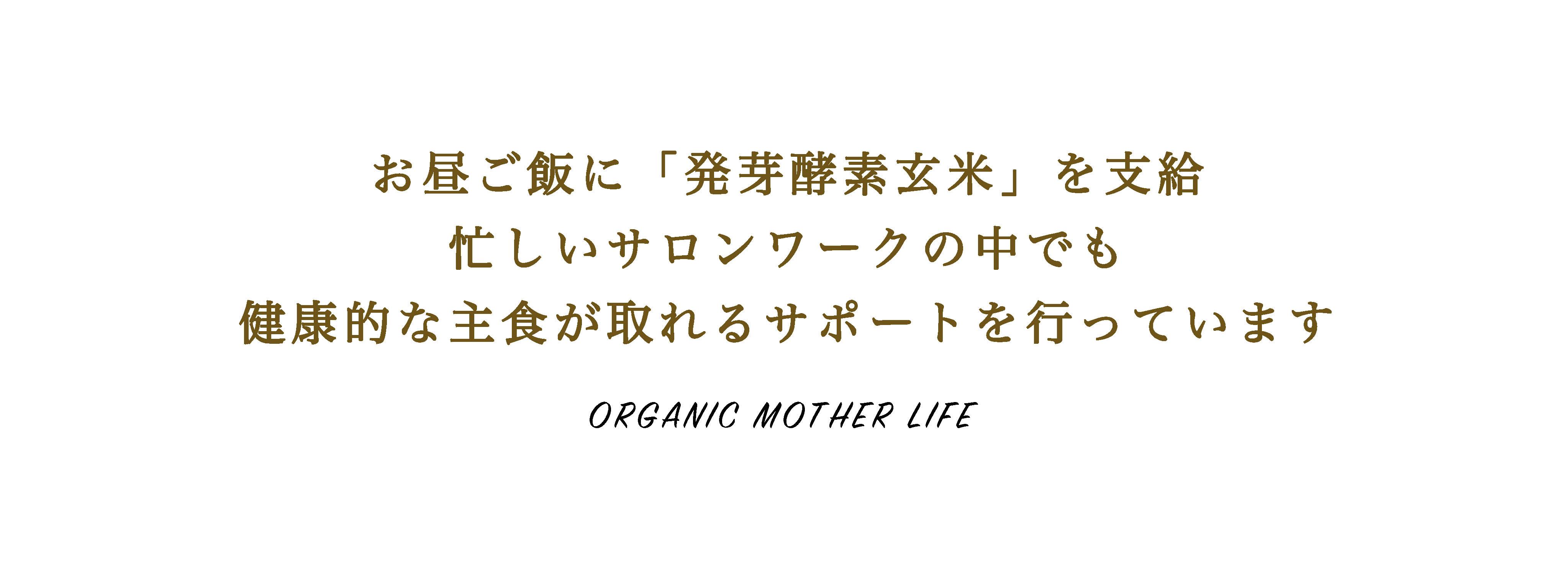 オーガニックマザーライフ福利厚生7