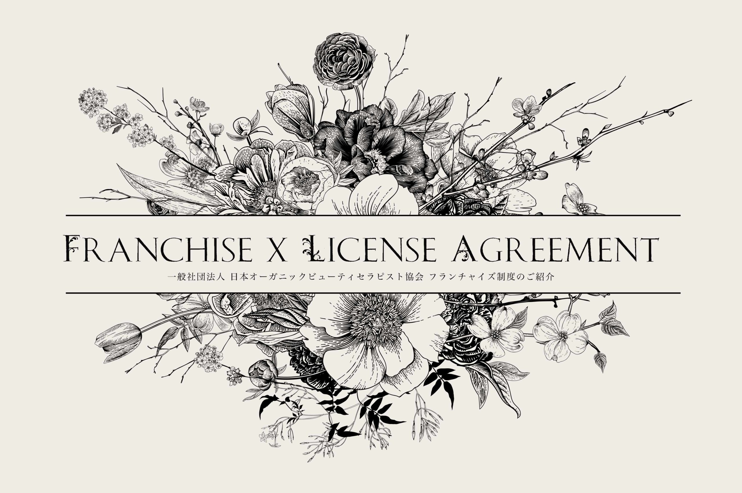 Franchise x License Agreement  6