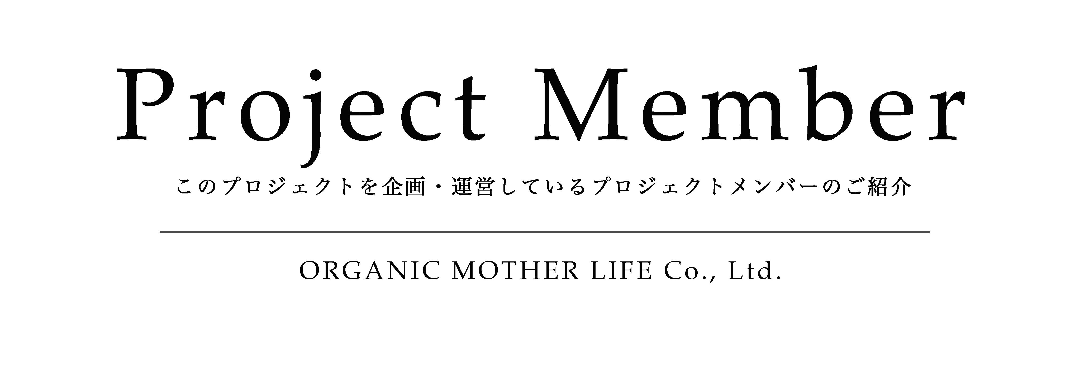 Project Member